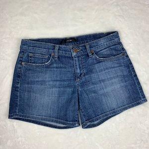 Joe's Jeans Khylie Shorts Denim Blue Jeans Size 28